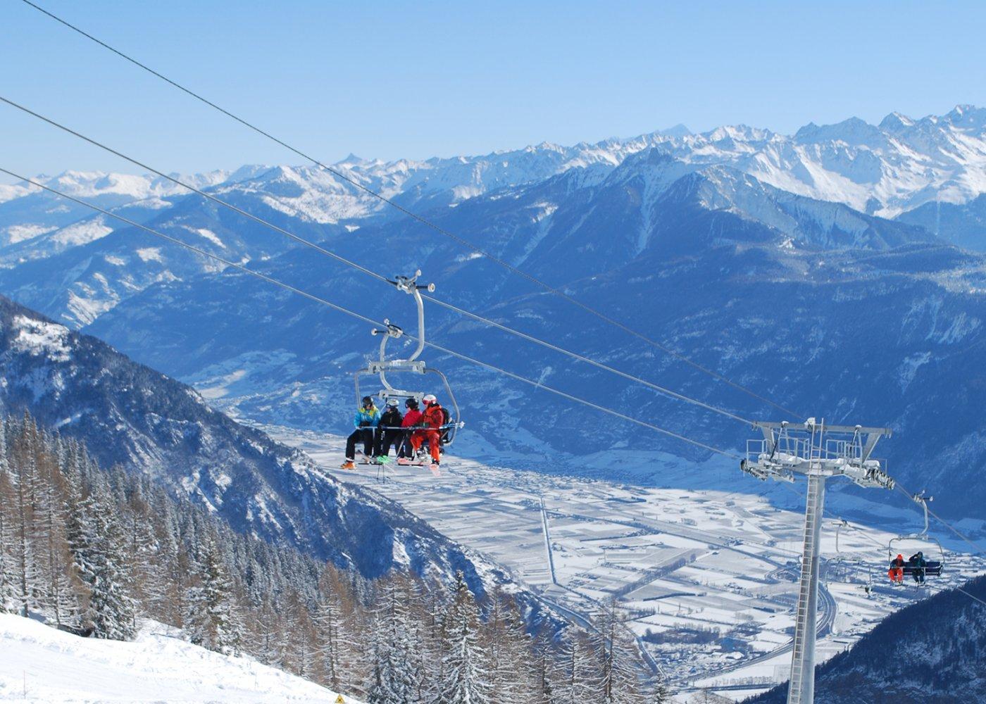 Skiez dans la vallée