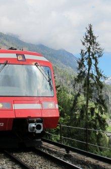 Train + panorama