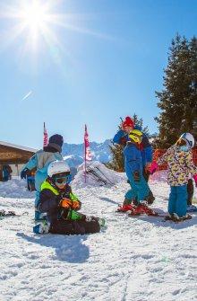 Initiation au ski kids