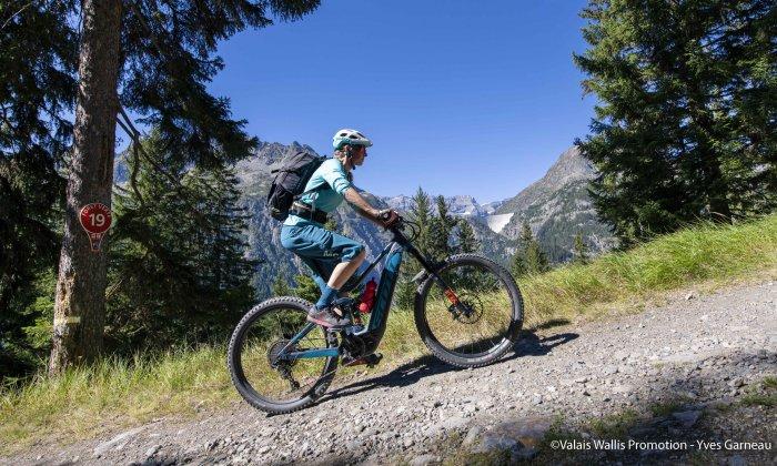 E-Bikes-Verleih