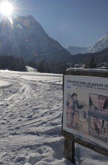 Ski de fond Vallorcine