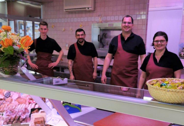 Boucherie Sur l'Alpe, chez Olivier
