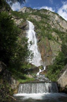Pissevache waterfall