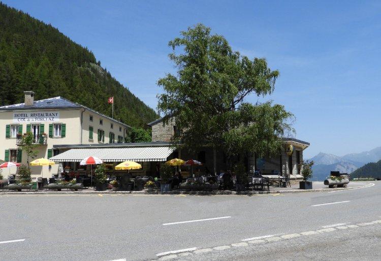 Martigny - Col de la Forclaz (vélo)
