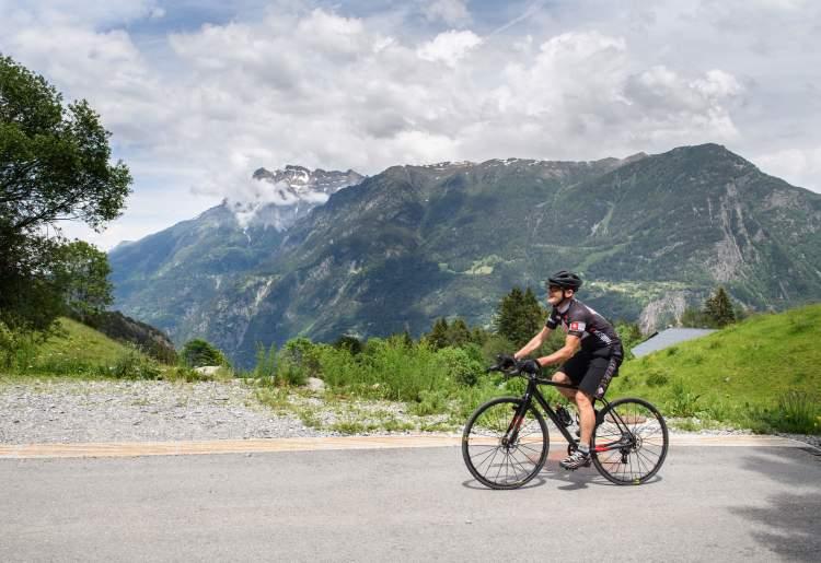 Vernayaz -  Van d'en Haut (vélo)
