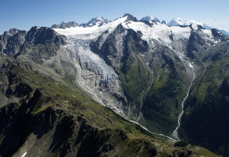 Glacier of les Grands