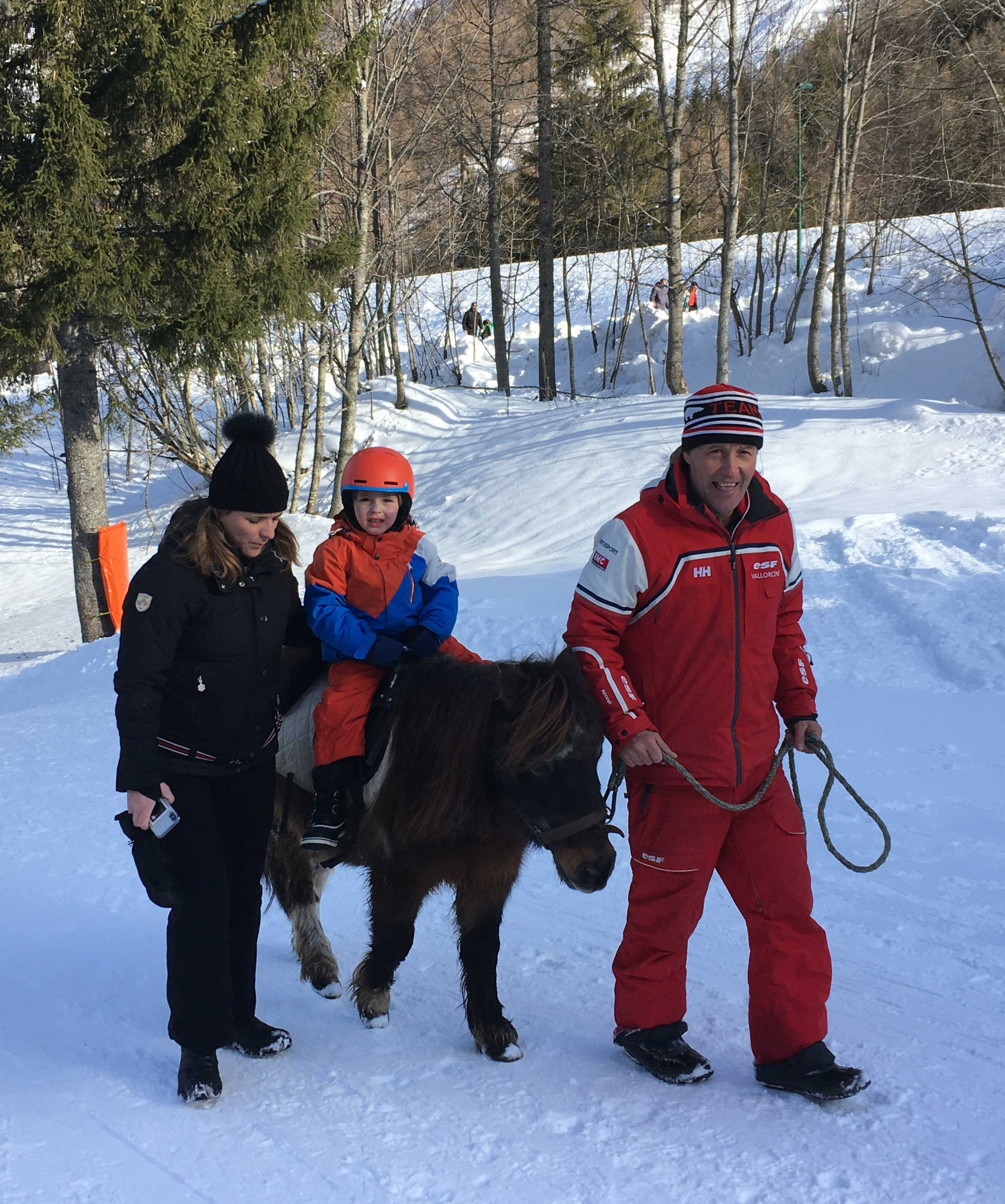 Balade à poney (Le Buet)