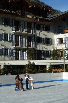 Ice rink Vallorcine