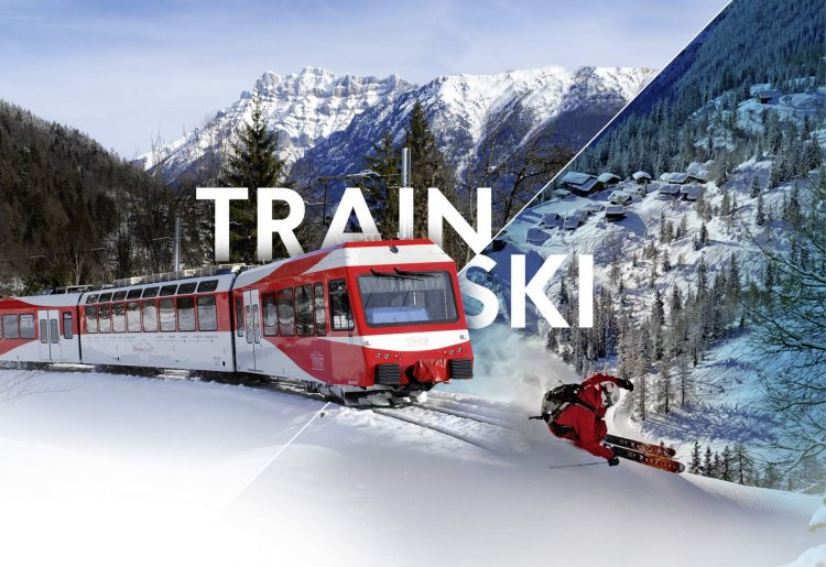 Train et ski aux Marécottes