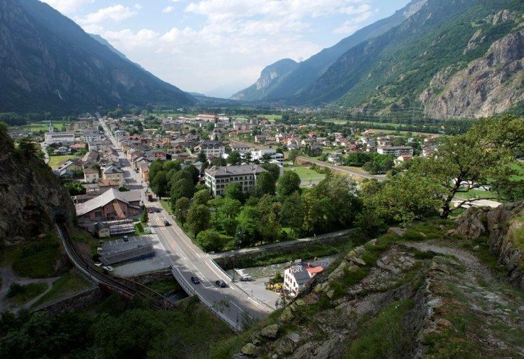 Pissevache - Gorges du Trient