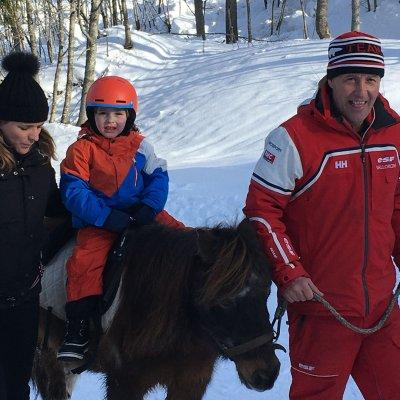 Ponyreiten (Le Buet)
