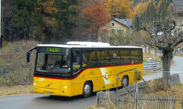 Shuttle-Bus Châtelard-Frontière - Col de la Forclaz