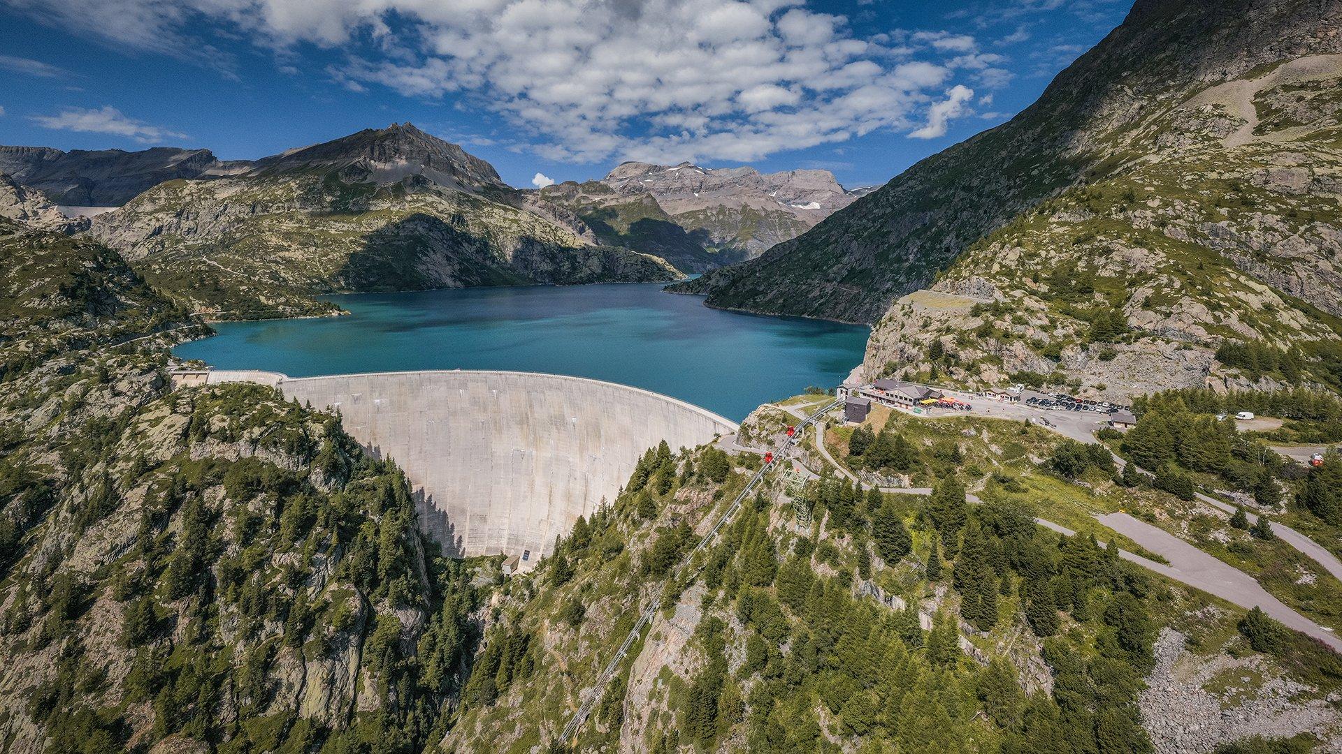 Führung durch den Emosson Dam