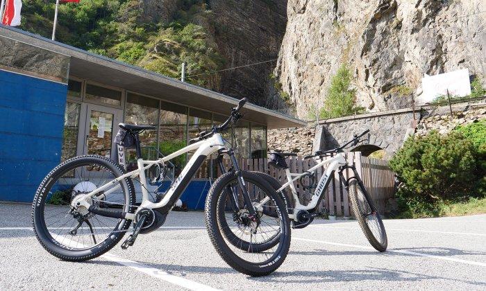E-Bike Verleih - Gorges du Trient
