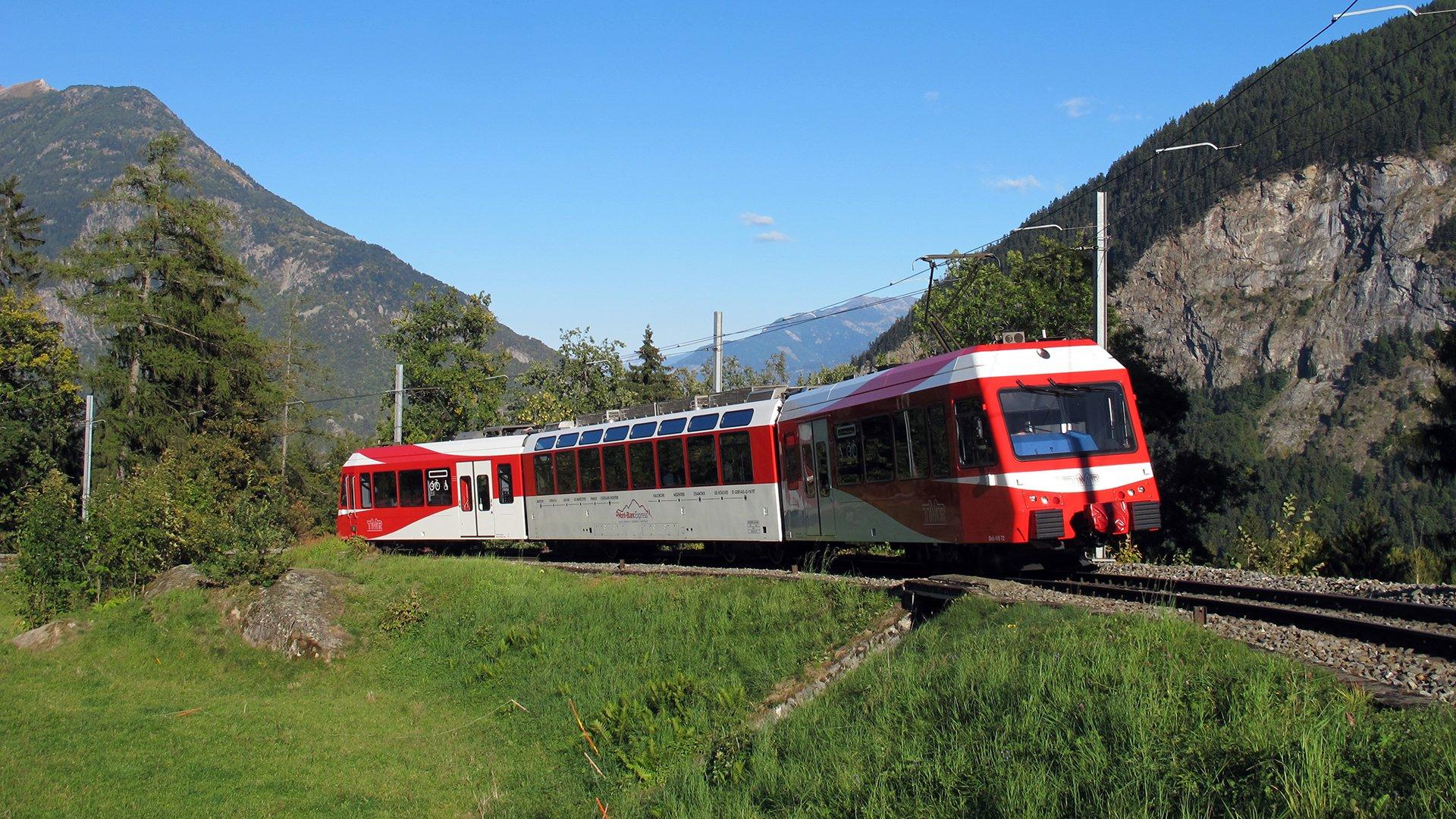 Parcours du Mont Blanc Express