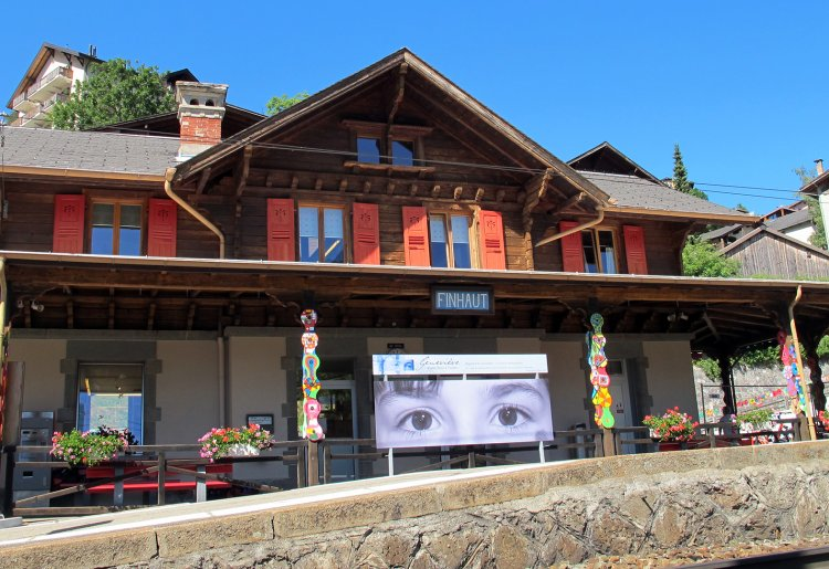Gare de Finhaut / info point
