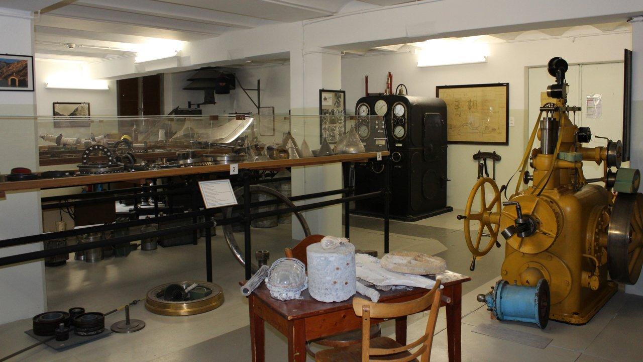 Wasserkraft-Museum des SBB-Kraftwerks Châtelard-Barberine