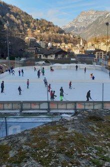 Ice rink Salvan
