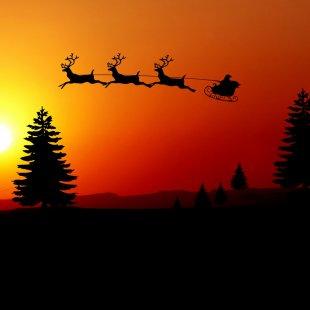 La tournée du Père Noël
