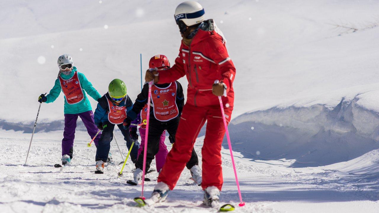 Ecole de ski Vallorcine