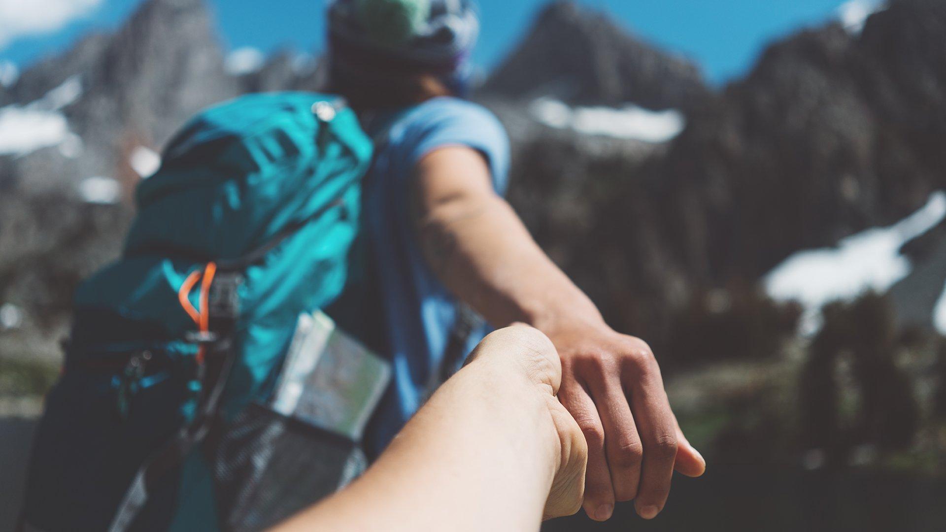 Follow the mountain guide