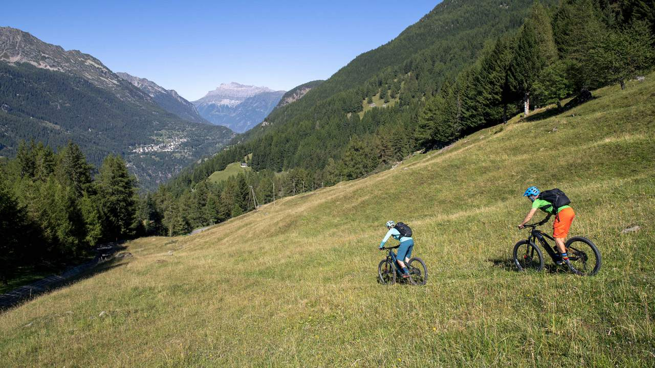 Tour of the Trient Valley (mountain bike)