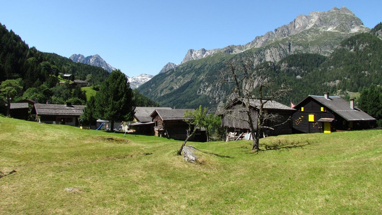 Trail des hameaux de Trient