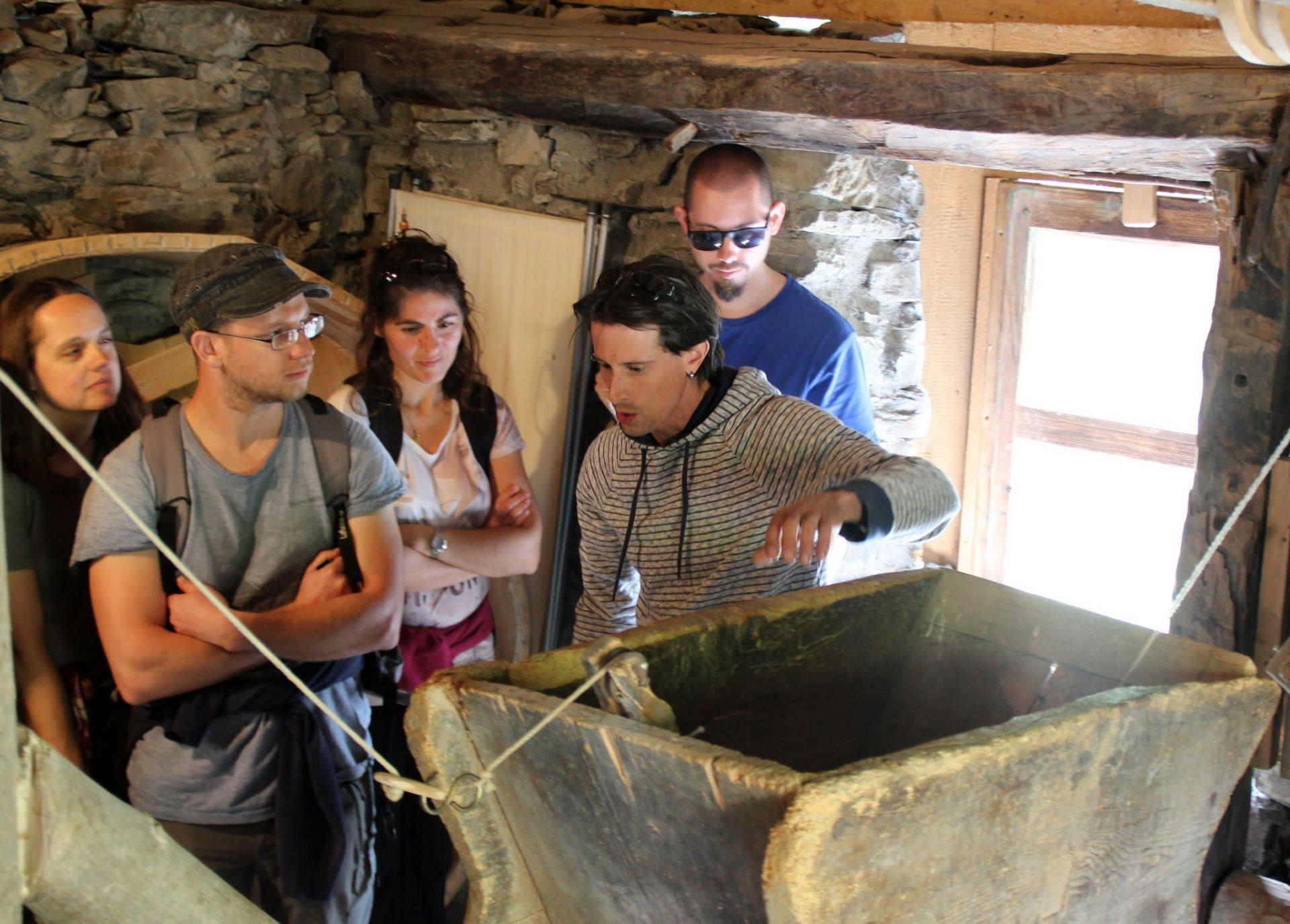 Visite du moulin pour groupes