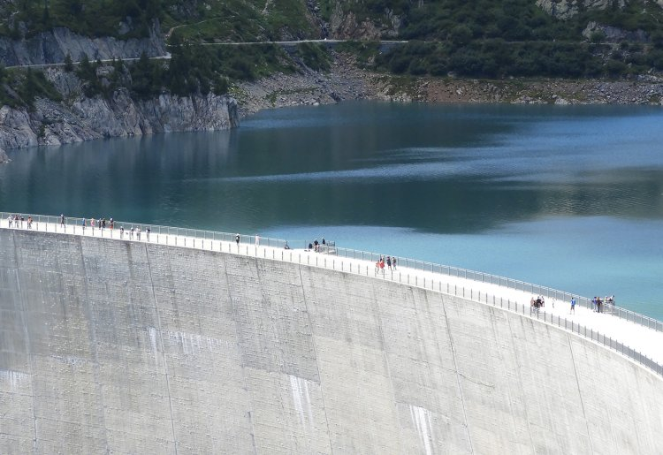 Visite guidée du barrage d'Emosson